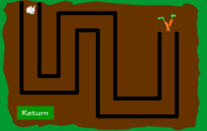 پروژه فلش - بازی در جستجوی هویج