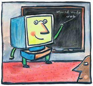 مقاله نقش فناوری اطلاعات و ارتباطات در آموزش